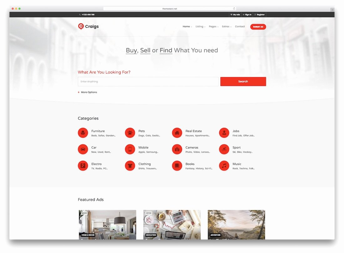 Real Estate Website Templates Lovely 24 top HTML5 Real Estate Website Templates 2019 Colorlib