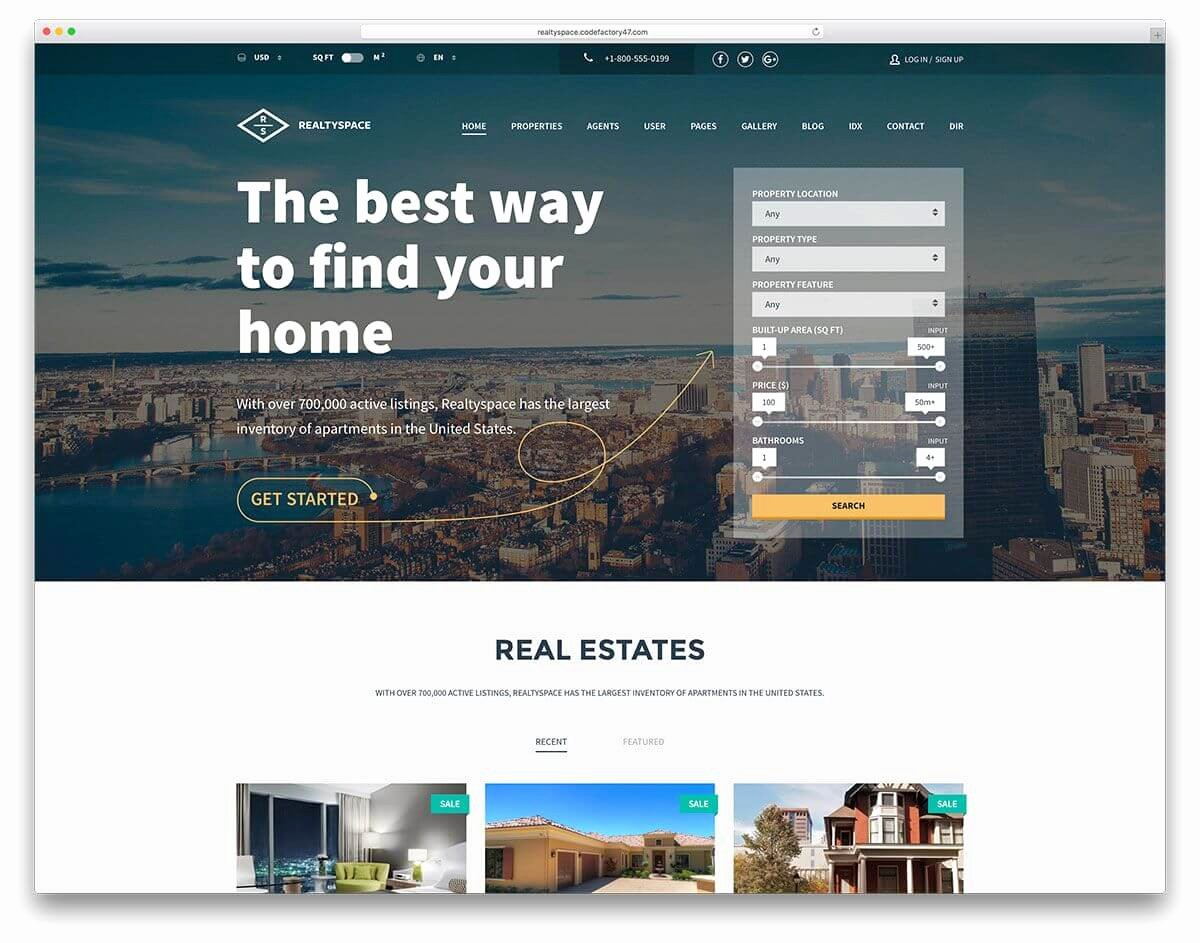 Real Estate Website Templates Lovely Tips for Real Estate Agent Websites