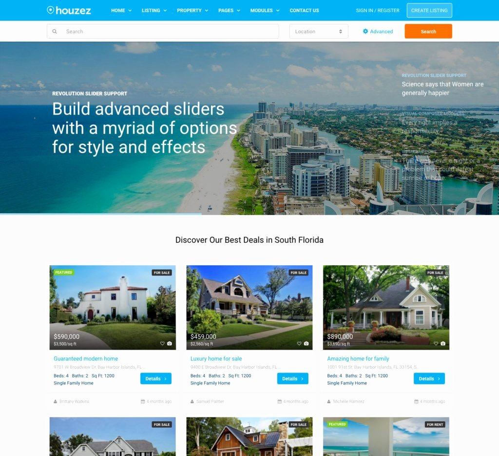 Real Estate Website Templates Unique Real Estate Website Templates 25 Examples & How to Choose