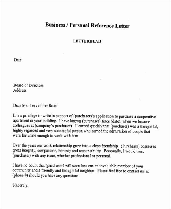 Reference Letter for Apartment Awesome 10 Sample Business Reference Letter Templates Pdf Doc