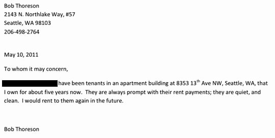 Reference Letter for Apartment Beautiful Bob Thoreson Homerx Lawsuit Bad Landlords In Seattle