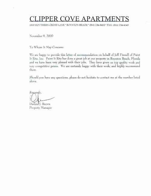 Reference Letter for Apartment Lovely Clipper Cove Apartments Boynton Beach Florida