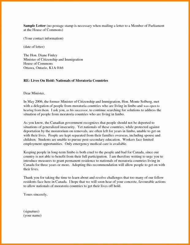 Reference Letter for Immigration Fresh Letter Re Mendation for Immigration