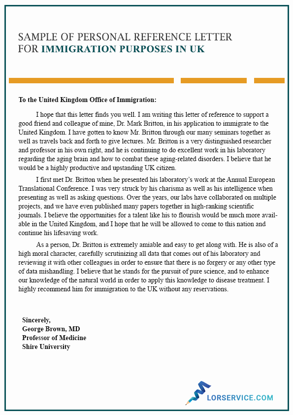 Reference Letter for Immigration Lovely Writing A Character Reference Letter for Immigration Uk