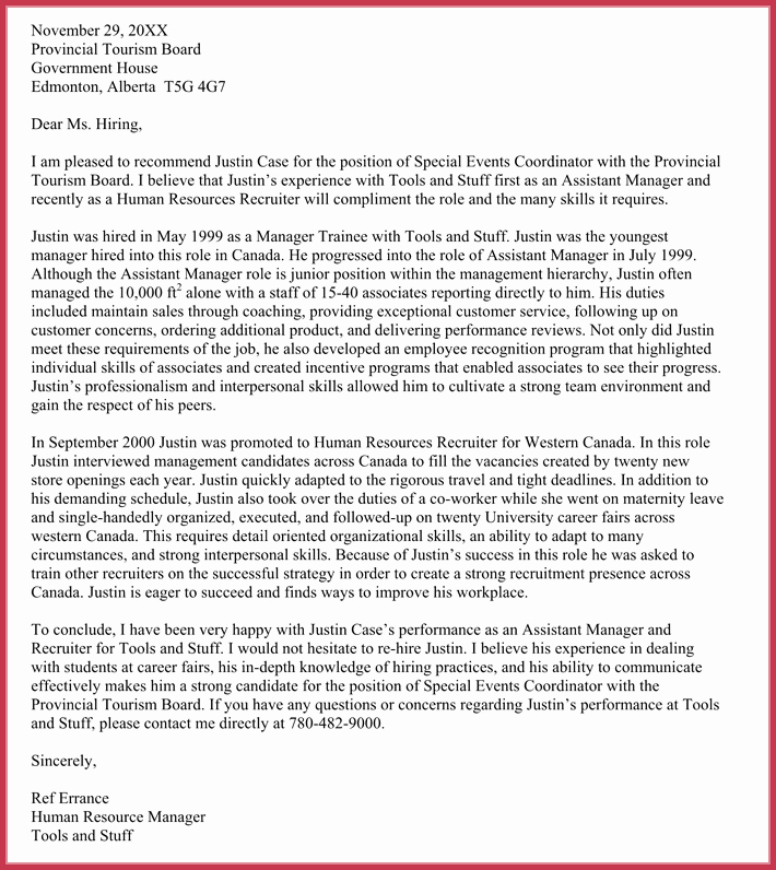 Reference Letter for Immigration New Immigration Reference Letters 7 Samples formats and
