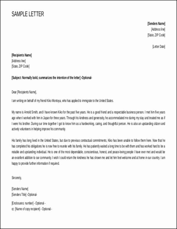 Reference Letter for Immigration Unique Steps to Writing A Reference Letter for Immigration