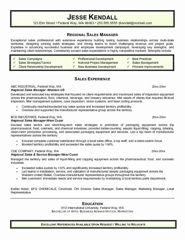 Regional Sales Manager Job Description Best Of 17 Best Images About Resume S Amd Cv S On Pinterest