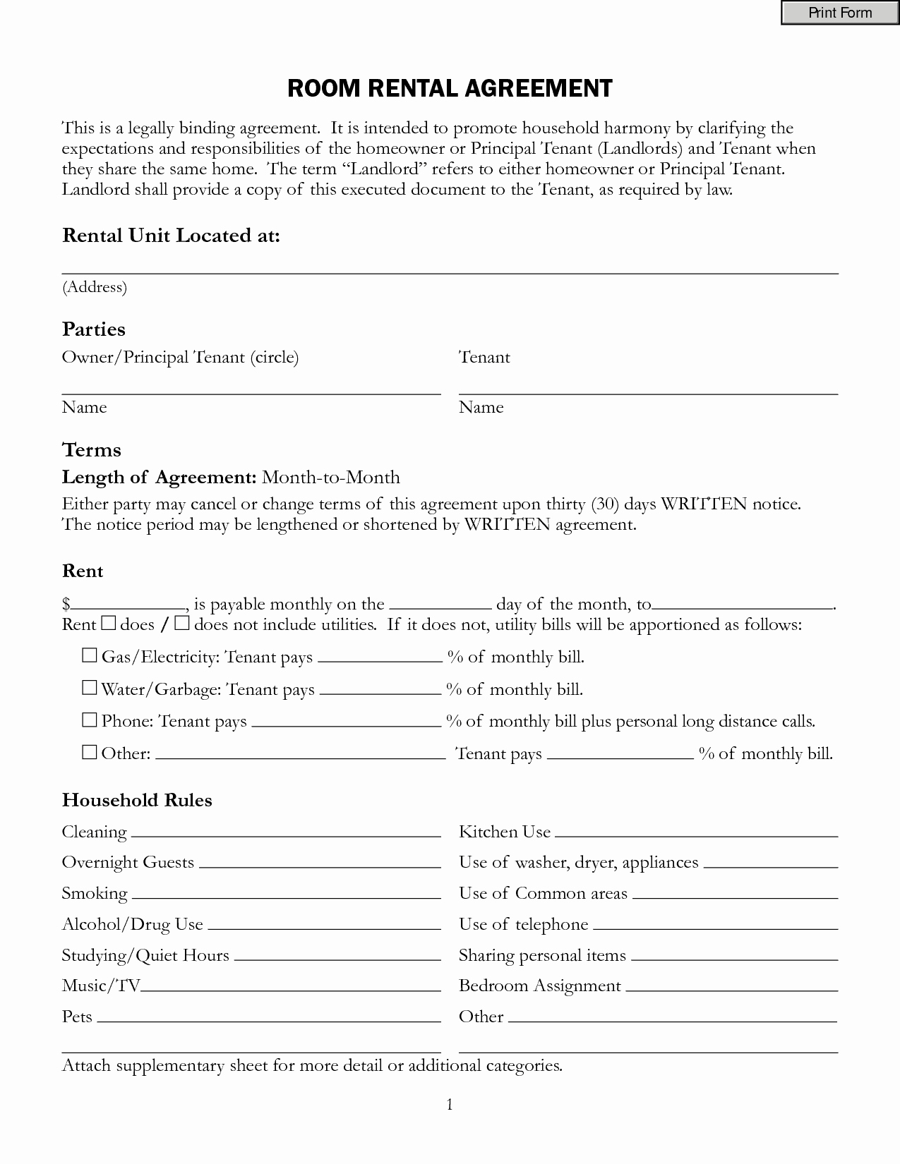 Rental Agreement Template Word Awesome top 5 Resources to Get Free Rental Agreement Templates