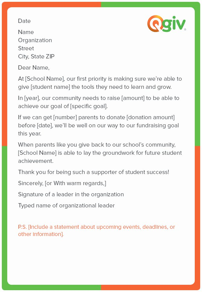 Request for Donations Letter Fresh 9 Awesome and Effective Fundraising Letter Templates
