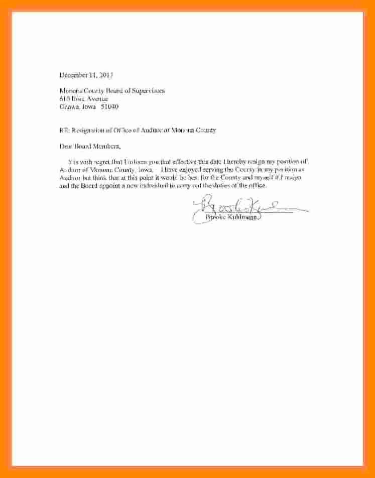 Resignation Letter Effective Immediately Awesome 7 Resignation Letter Effective Immediately