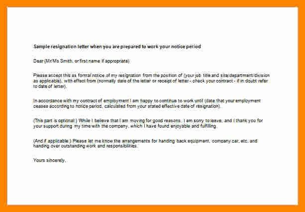 Resignation Letter Effective Immediately Best Of 7 Resignation Letter Effective Immediately
