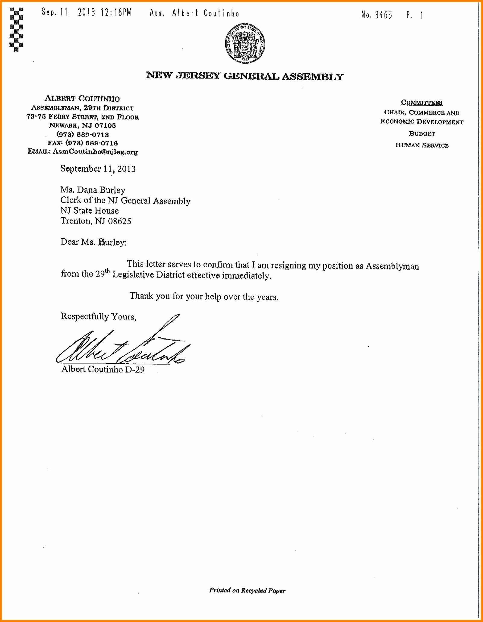Resignation Letter Effective Immediately Fresh 6 Effective Immediately Resignation