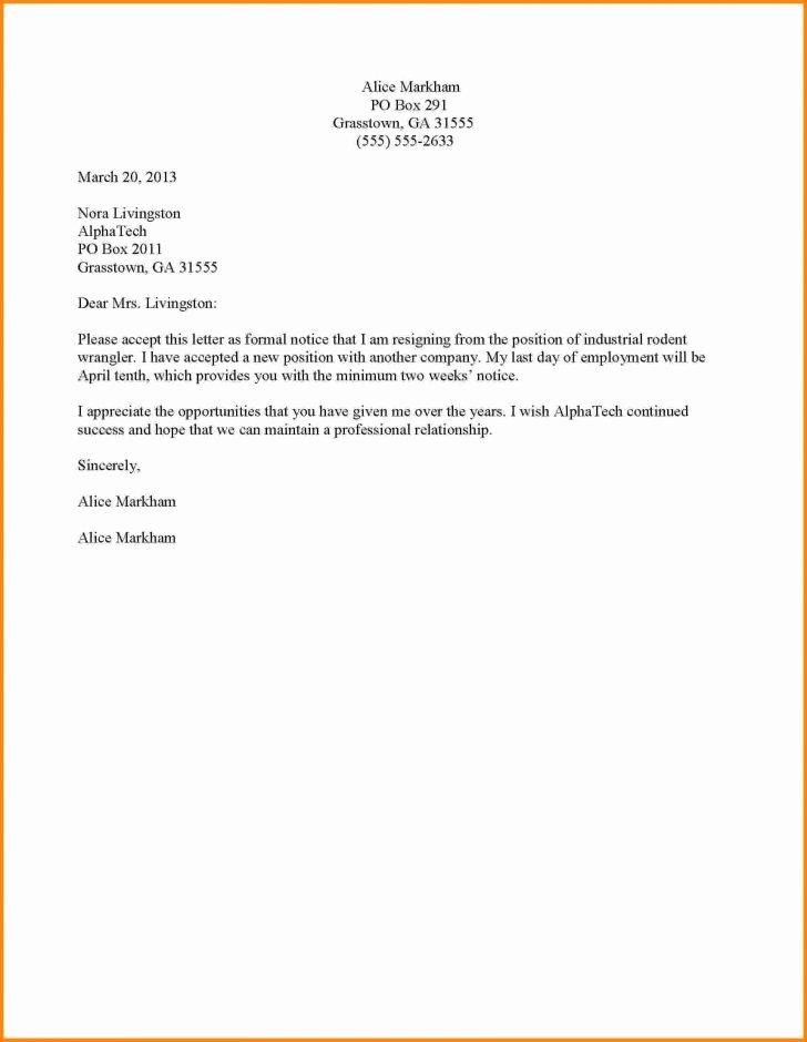 Resignation Letter Effective Immediately Inspirational Simple Resignation Letter Effective Immediately Filename