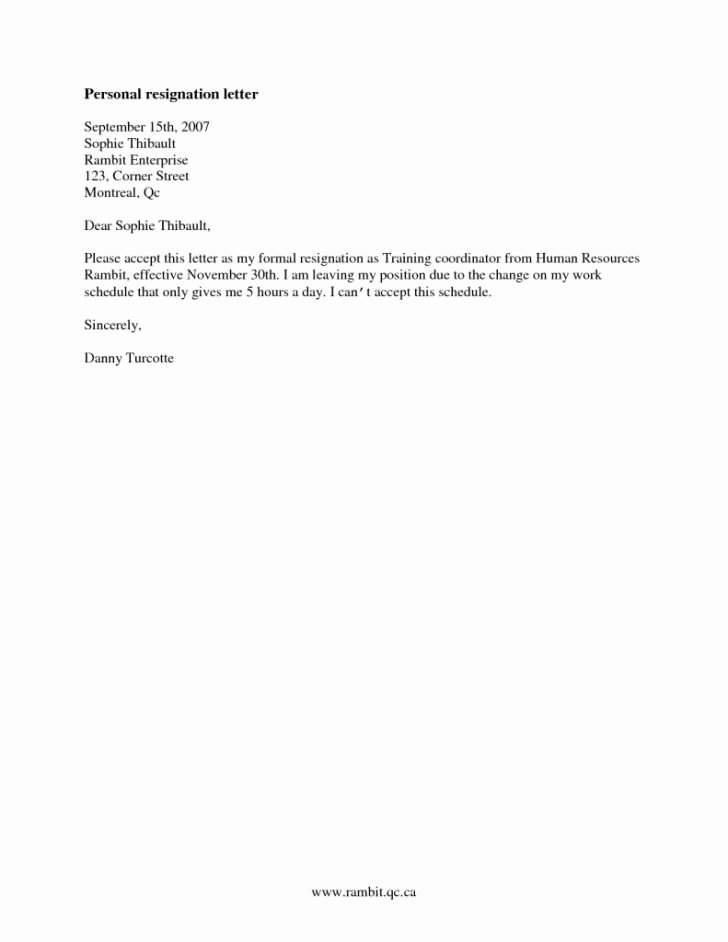 Resignation Letter Effective Immediately New Simple Resignation Letter Effective Immediately Filename