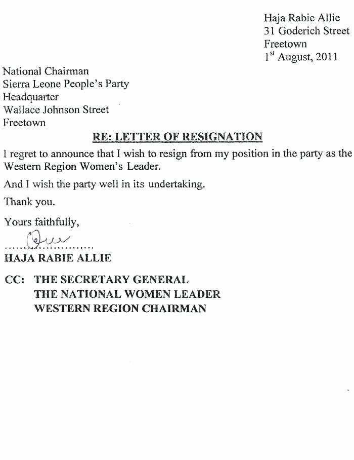 Resignation Letter Effective Immediately Unique 8 Resignation Letter Effective Immediately