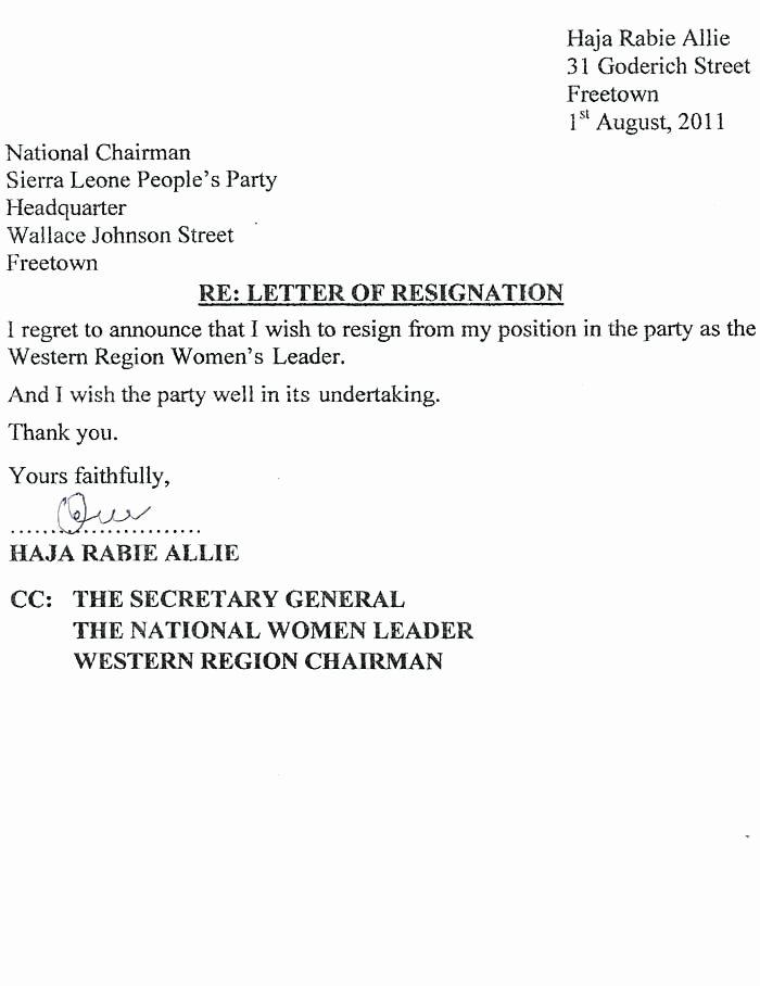 Resignation Letter Effective Immediately Unique 8 Resignation Letter Effective Immediately