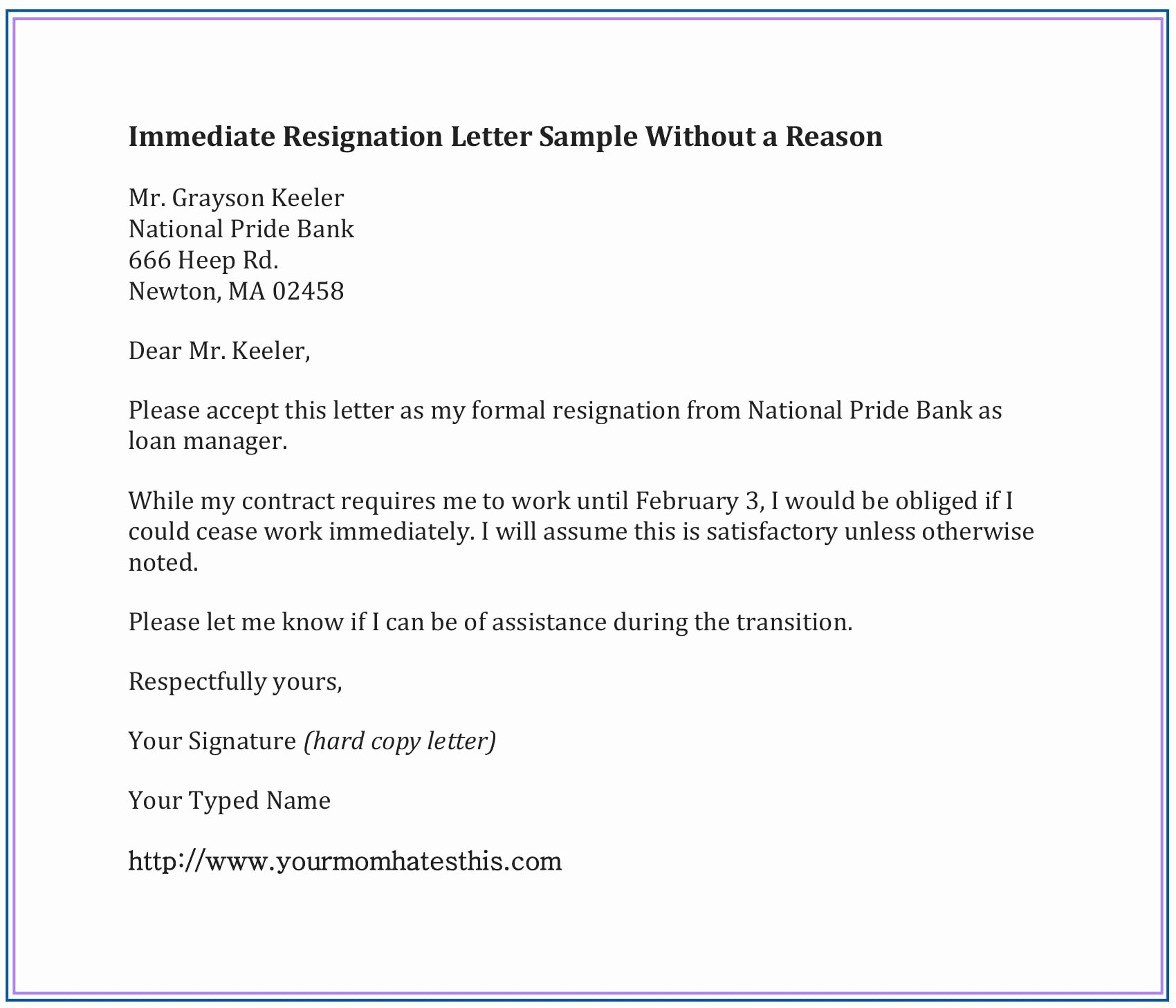 Resignation Letter Template Free Elegant Dos and Don'ts for A Resignation Letter