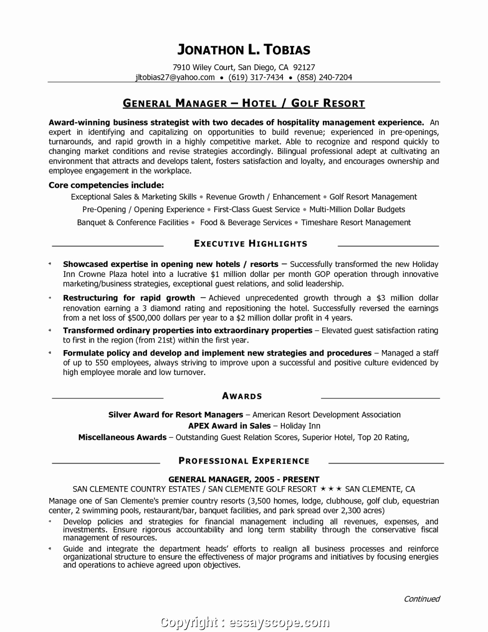 Restaurant General Manager Resumes Fresh Newest Best Restaurant General Manager Resume Restaurant