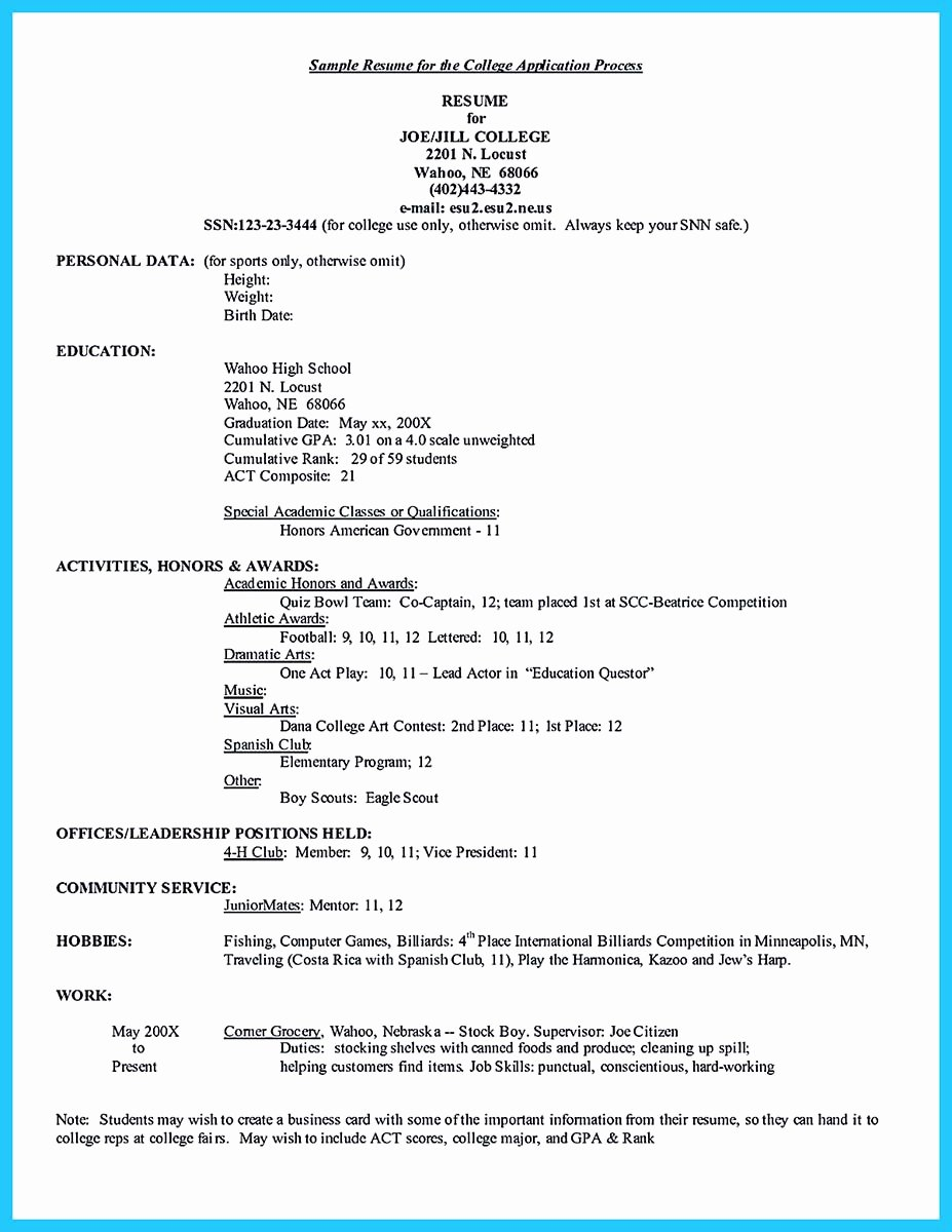 Resume Samples for College Student Fresh Best Current College Student Resume with No Experience