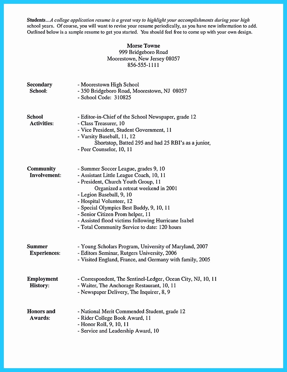 Resume Samples for College Student Lovely Best Current College Student Resume with No Experience