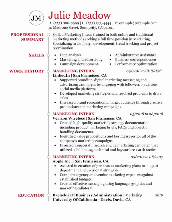 Resume Samples for College Student Unique Essential Student Resume Samples