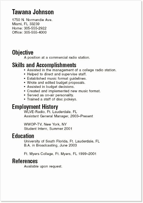 Resume Template College Student New Pinterest • the World's Catalog Of Ideas