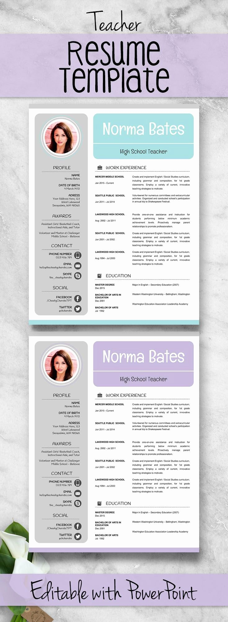 Resume Template for Teachers Beautiful 25 Best Teacher Resumes Ideas On Pinterest