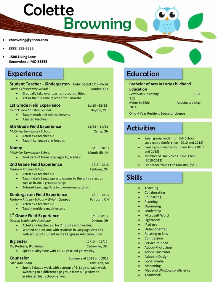 Resume Template for Teachers Best Of 13 Best Teacher Cover Letters Images On Pinterest