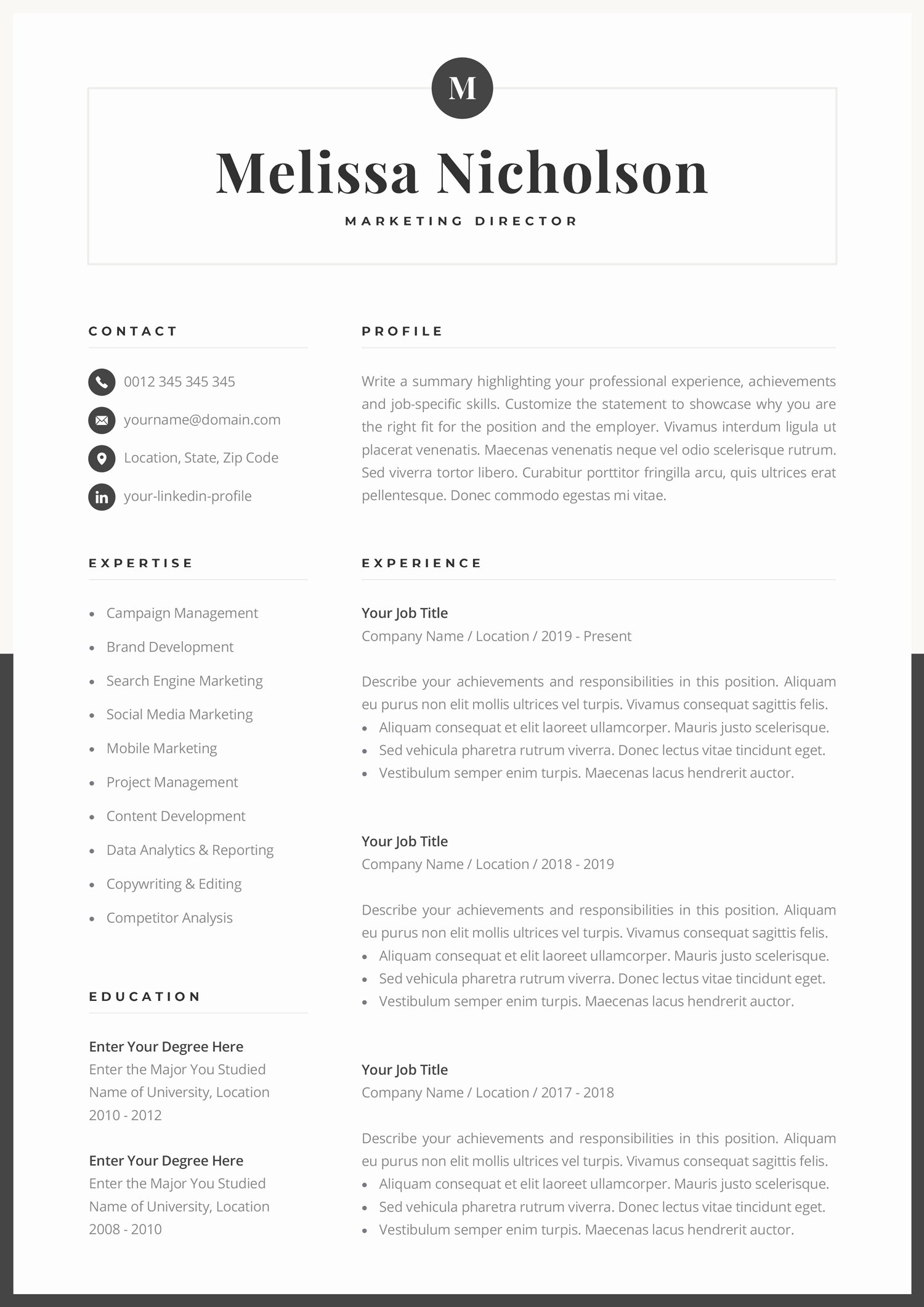 Resume Templates for Mac Fresh Cool Resume Templates for Mac