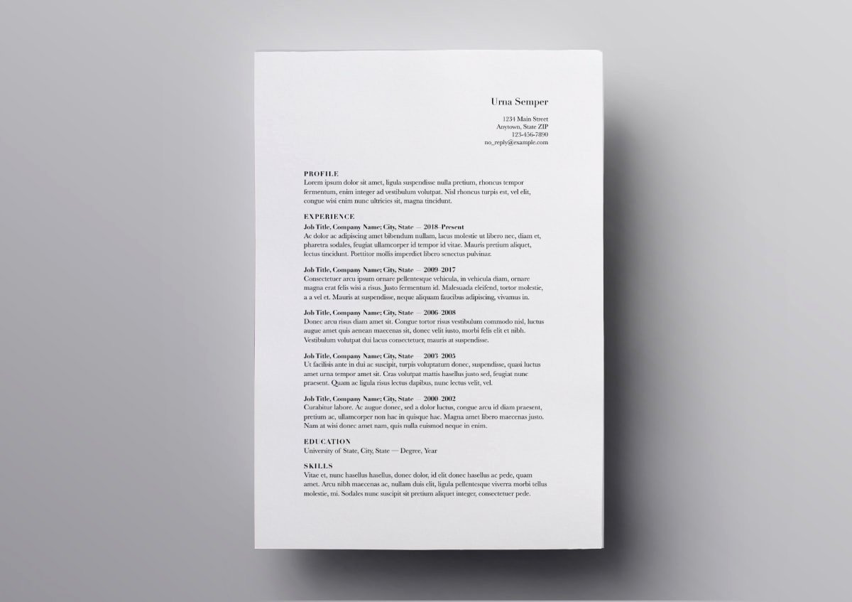 Resume Templates for Mac Fresh Pages Resume Templates 10 Free Resume Templates for Mac