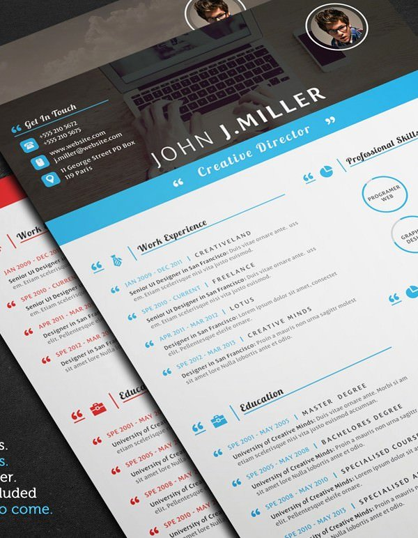 Resume Templates for Mac Inspirational Mac Resume Template – Great for More Professional yet
