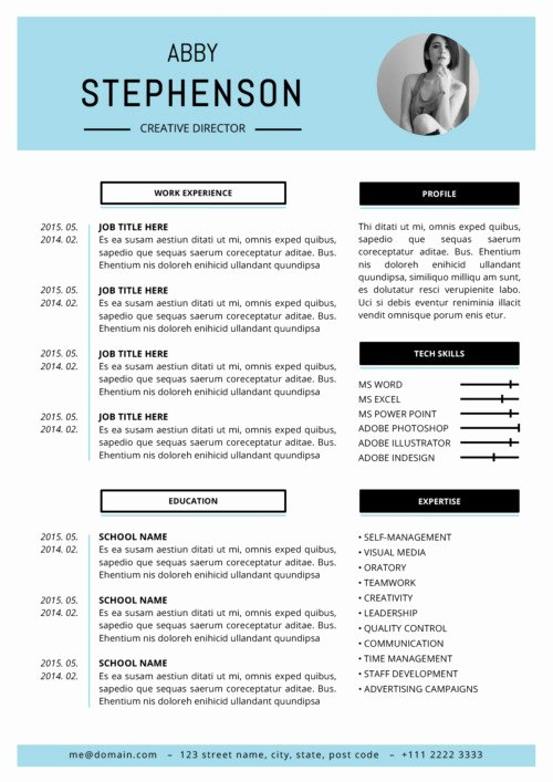 Resume Templates for Mac Luxury Resume Templates for Mac Word & Apple Pages Instant