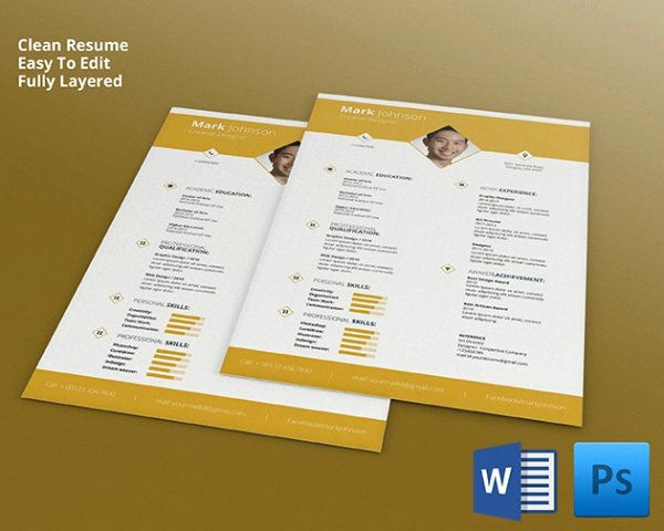 Resume Templates for Mac New Mac Resume Template – Great for More Professional yet