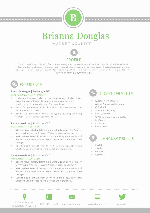 Resume Templates for Mac New Resume Templates for Mac Also Apple Pages Ready