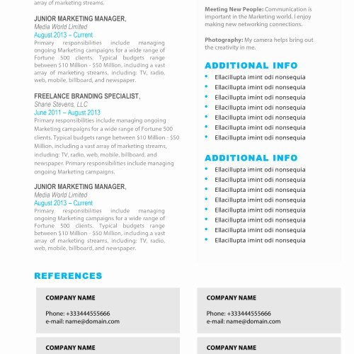Resume Templates for Mac New Resume Templates for Mac Word & Apple Pages Instant