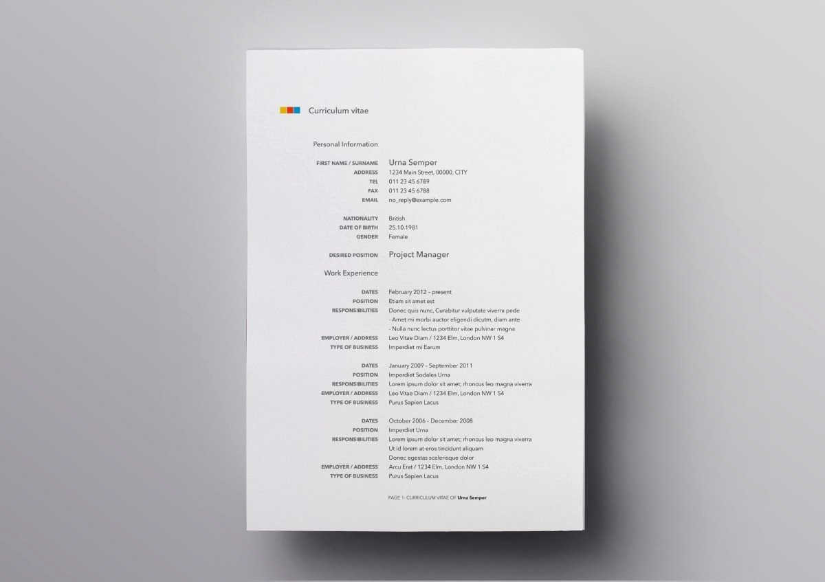 Resume Templates for Mac Unique Pages Resume Templates 10 Free Resume Templates for Mac