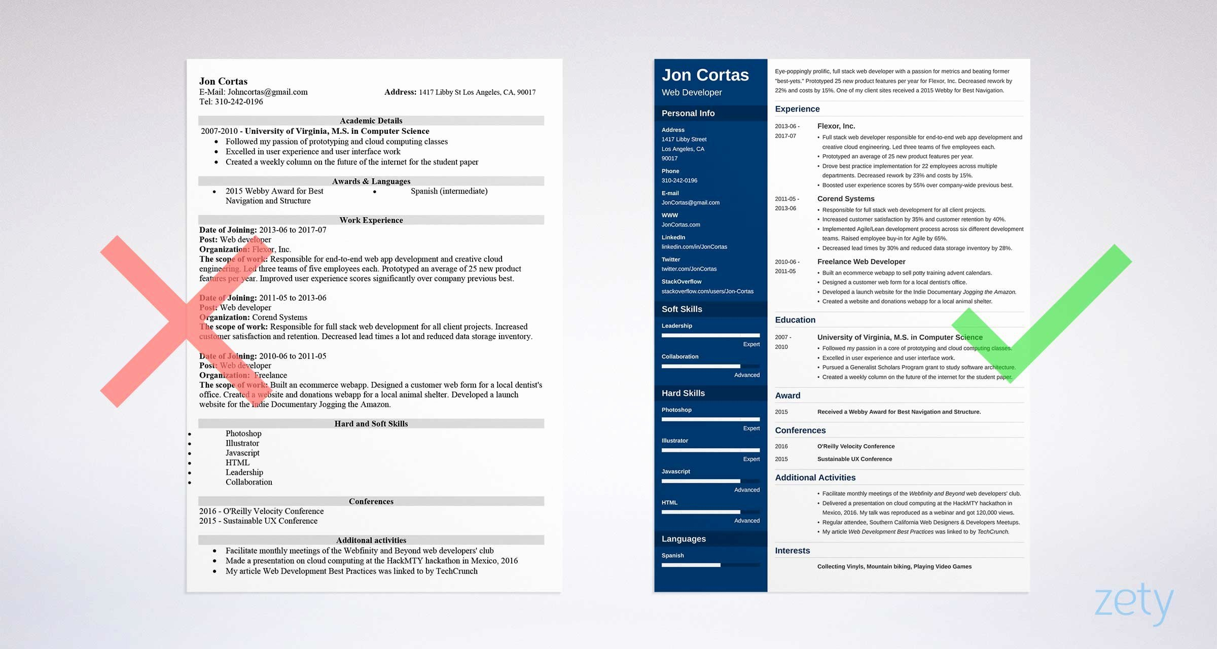 Resume Templates Free Word Beautiful 15 Resume Templates for Word Free to Download