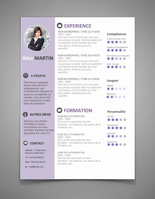 Resume Templates Free Word Best Of Curriculum Vitae Template Word 2016