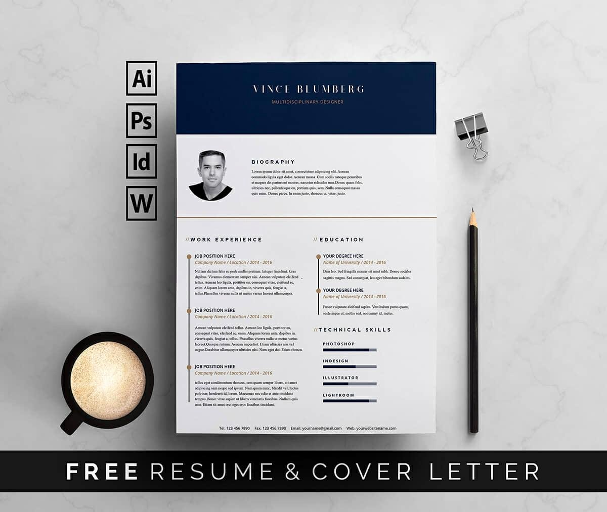 Resume Templates Free Word Best Of Resume Templates for Word Free 15 Examples for Download
