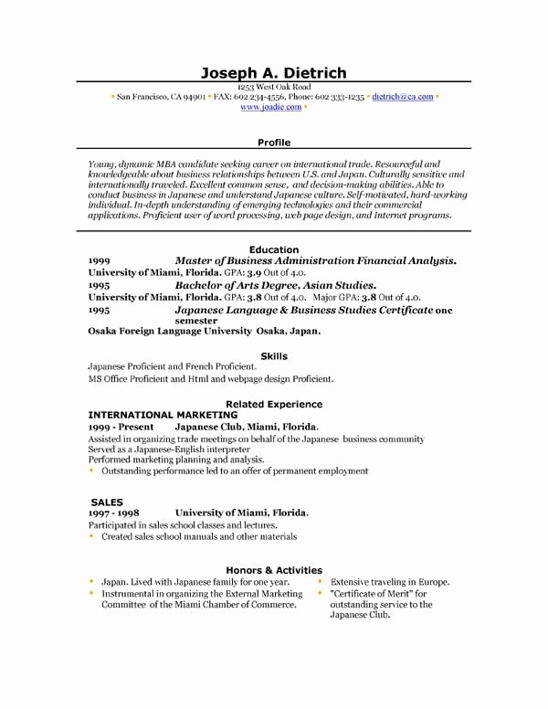 Resume Templates Free Word Inspirational Free Resume Template Downloads