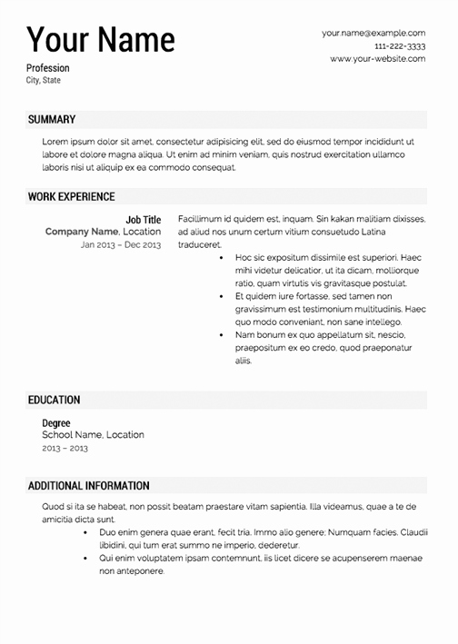 Resume with Picture Template Beautiful How to Make Your Resume Look Good