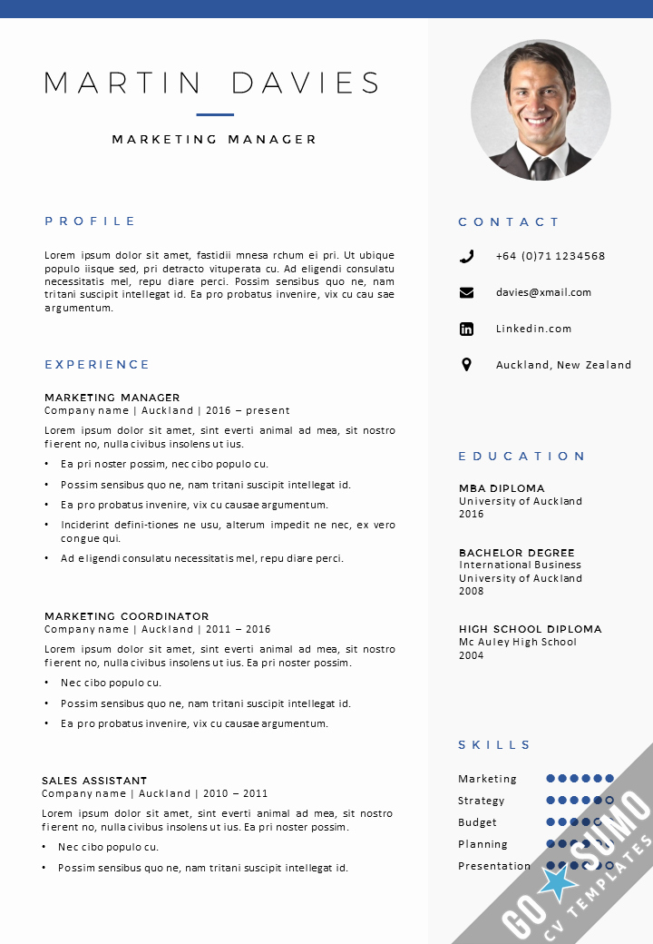 Resume with Picture Template Lovely where Can You Find A Cv Template