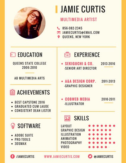 Resume with Picture Template New Customize 979 Resume Templates Online Canva
