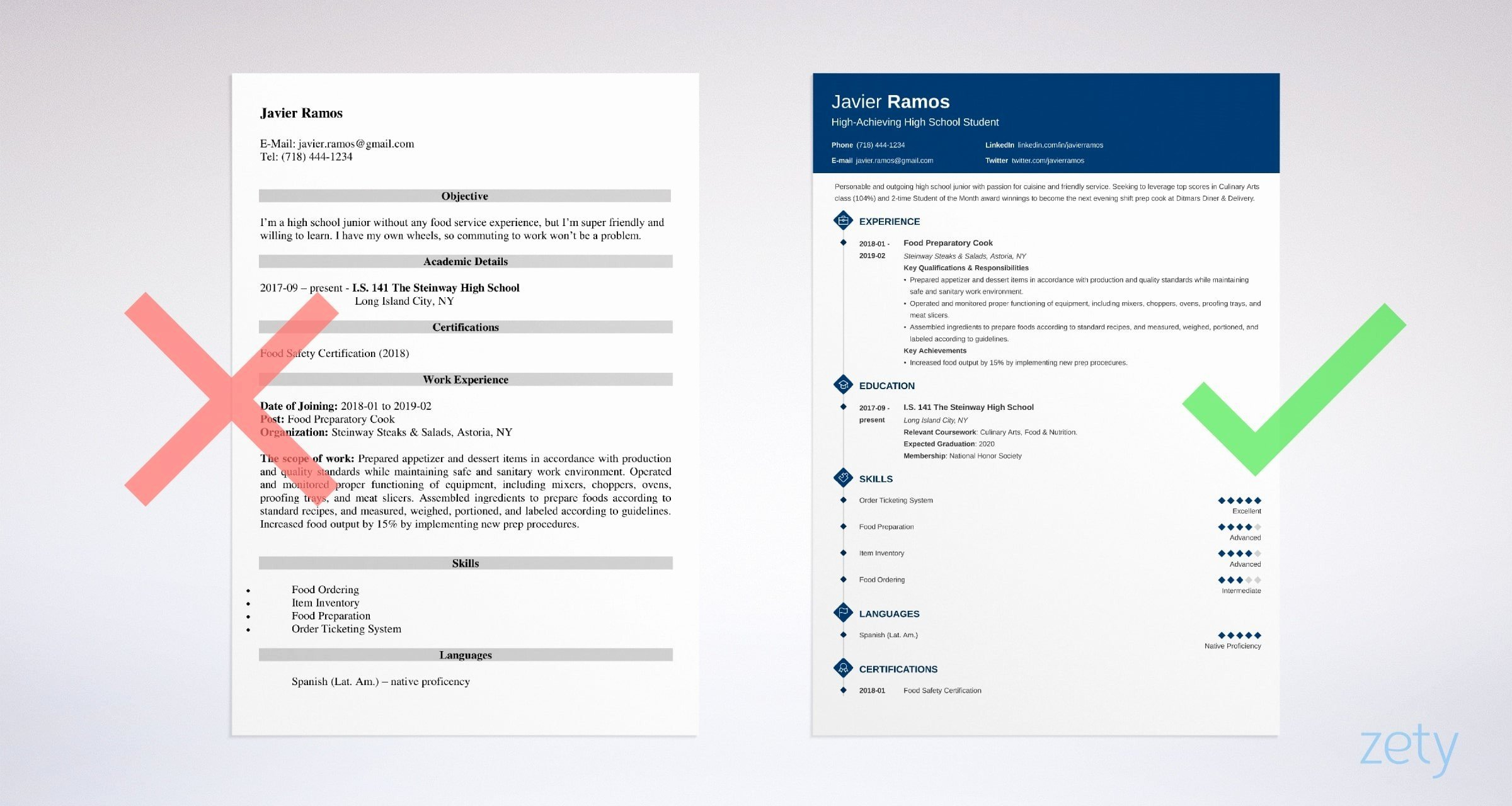 Resumes for High School Students Luxury High School Student Resume Sample & Writing Guide [20