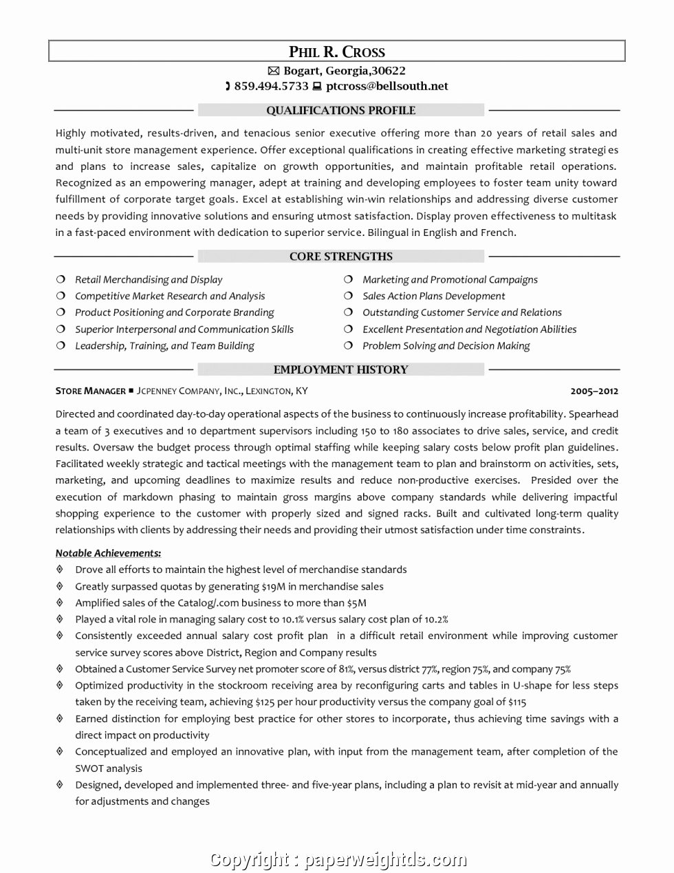Retail Store Manager Resumes Awesome Creative Retail Clothing Manager Resume Retail Store