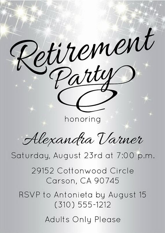 Retirement Party Invitations Template Best Of Best 25 Retirement Invitations Ideas On Pinterest