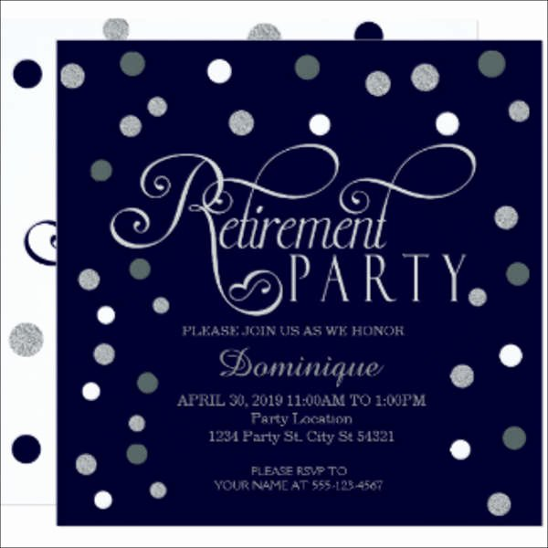 Retirement Party Invitations Template Inspirational 39 event Invitations In Word