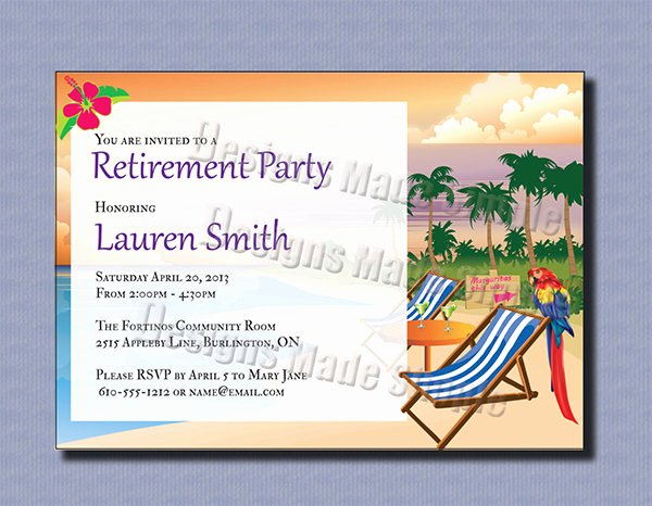 Retirement Party Invitations Template Unique 36 Retirement Party Invitation Templates Psd Ai Word