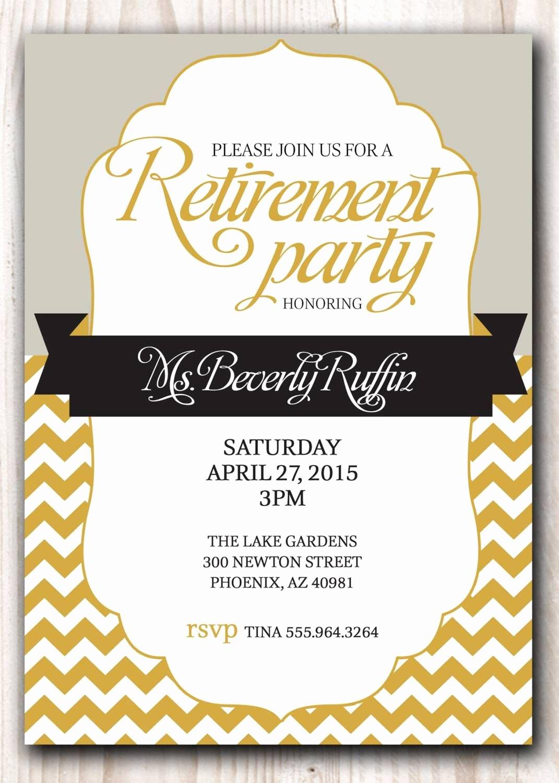 Retirement Party Invitations Templates Elegant Retirement Party Invitation Template Microsoft