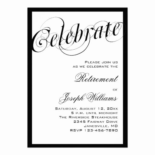 Retirement Party Invitations Templates Inspirational 15 Best Retirement Party Invitation Templates Images On